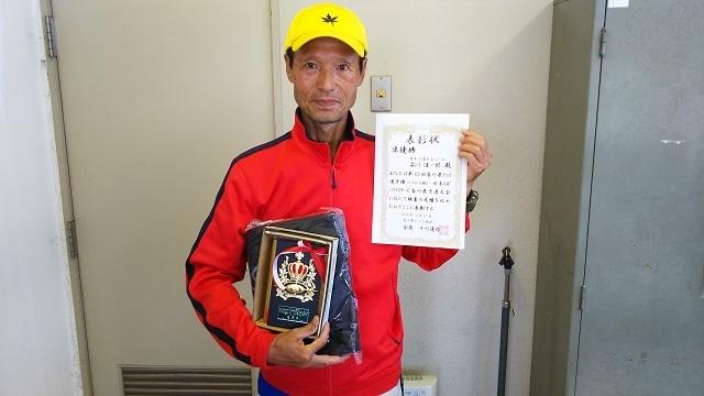 �M70男子S準優勝 森川健一郎.JPG