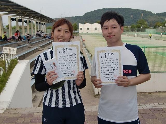 BC級MIX準優勝 高島・雲崎.JPG
