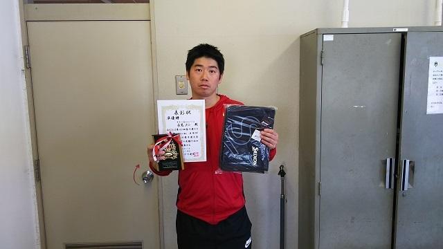 �A35男子S準優勝 長見洋二.JPG