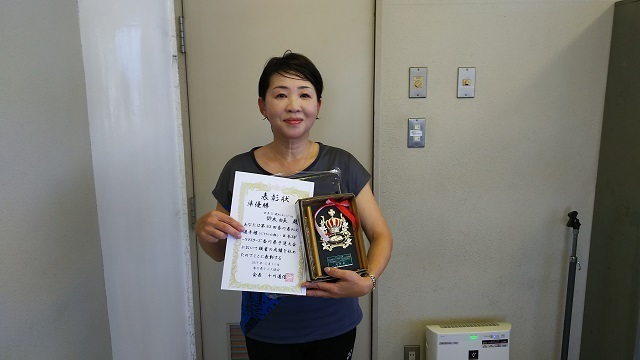 �Q50女子S準優勝 鈴木由美.JPG