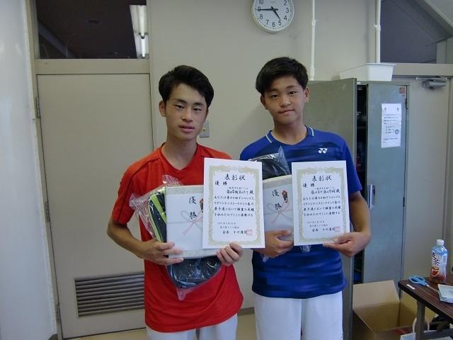 一般男子B級 優勝 藤田隼・藤田真.JPG