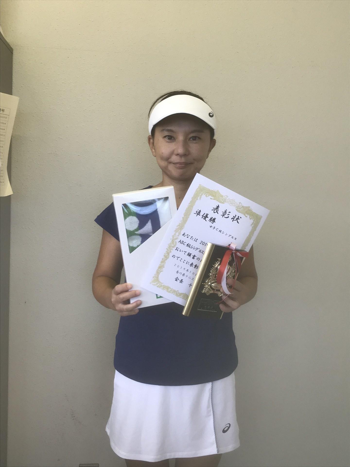 女子C級準優勝 土居佳世.jpg