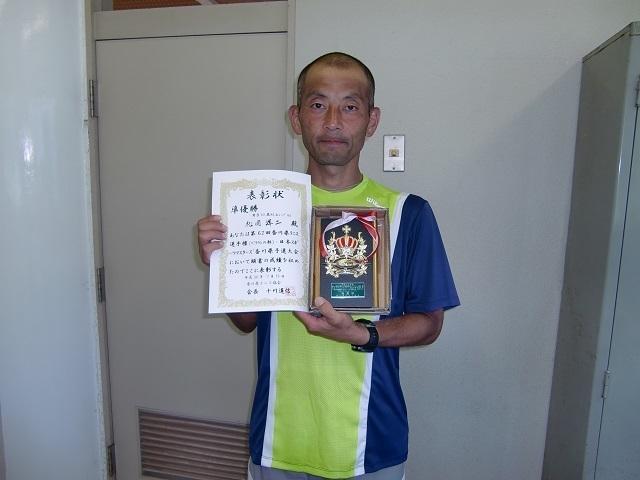 男子40歳以上S 準優勝 松岡洋二.JPG