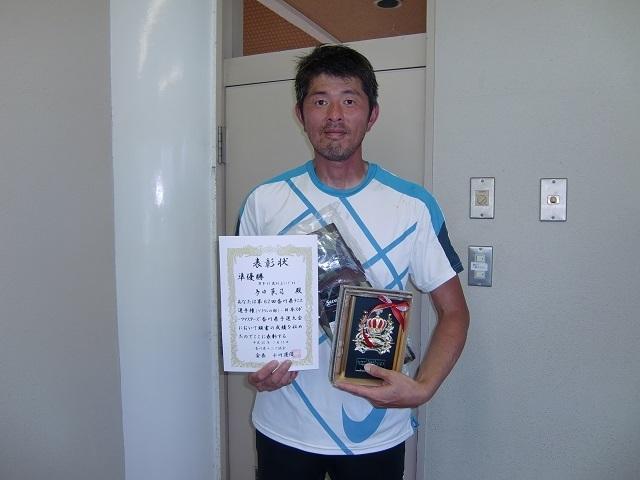 男子45歳以上S 準優勝 多田英司.JPG