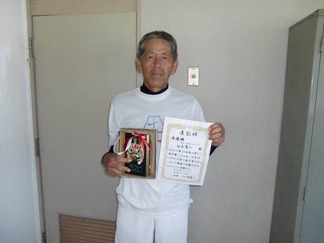男子65歳以上S 準優勝 谷本賢二.JPG