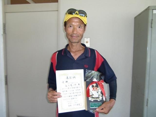 男子70歳以上S 優勝 森川健一郎.JPG