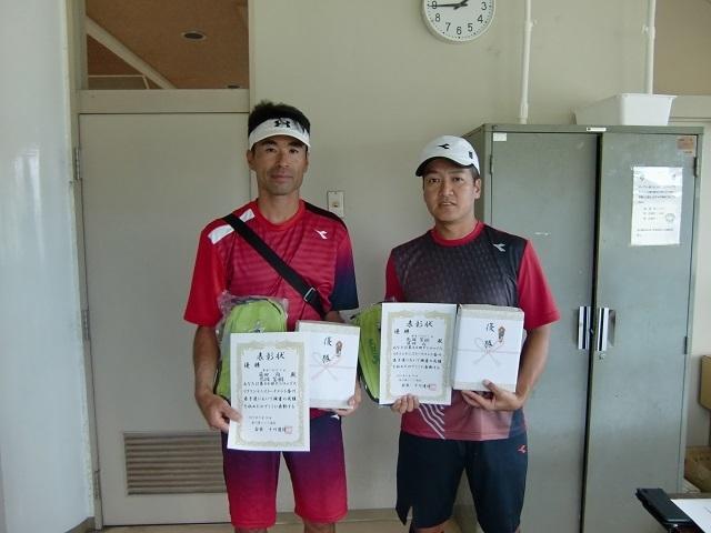 男子ベテラン優勝 荒岡・藤田.JPG
