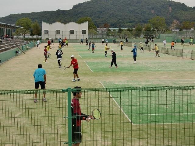 ボレーボレー大会風景�T.JPG